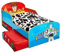 Toy Story Kids Toddler Bed with Underbed Storage