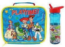 Toy Story Rectangular Lunch Bag &Amp; Bottle