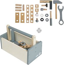 Toy tool box with accessories roba