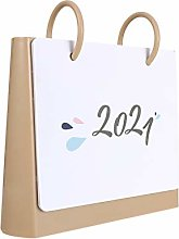 TOYANDONA 2021 Desk Calendar with Note Section