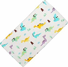 TOYANDONA Cotton Crib Sheet Baby Fitted Sheet