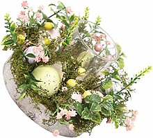 TOYANDONA Easter Candle Holder Cup Egg Decorative
