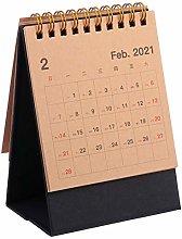 TOYANDONA Multifunctional Desk Calendar Desk Diary