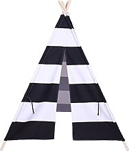 TOYANDONA Teepee Tent for Kids Castle Play Tent