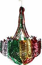 Toyland 22 Inch Multi Coloured Chandelier Hanging