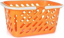 Toyvian Grocery Basket Customer Shopping Basket
