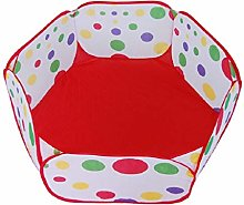 Toyvian Kids Ball Pit Pop Up Children Play Tent