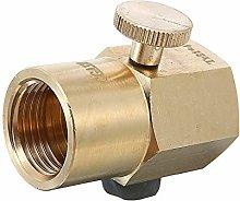 TR21-4 to CGA320 Brass Soda Stream Cylinder