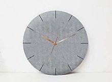 Tr73ans Geometric Wall Clock, Minimalist Wall