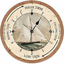Tr73ans Tidal Clock, Home Office School Decorative