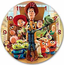 Tr73ans Wall Clock, Wall Decoration, TOY STORY