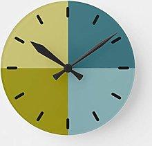 Traasd11an 15 by 15-inch Christmas Wall Clock,