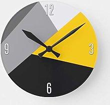 Traasd11an 15 by 15-inch Wall Clock, Simple Modern