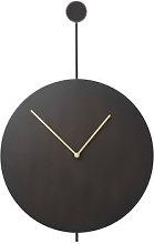 Trace Wall clock - / Ø 26 cm - Metal by Ferm
