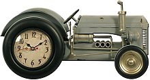 Tractor Mantle Clock August Grove