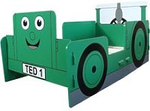 Tractor Ted Green Junior Toddler Bed Frame - 70 x