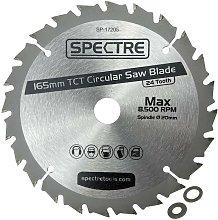 Trade Pro Circular Saw Blade 165 X 20 24 Teeth