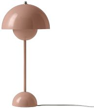 &Tradition - Flowerpot Table Lamp VP3 - Beige Red