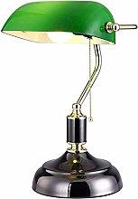 Traditional Banker lamp Bedside lamp Vintage Desk