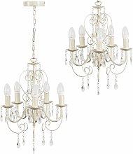 Traditional Chandelier 5 Way Ceiling Light Jewel