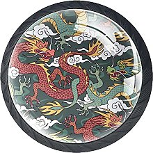 Traditional Chinese Dragon, 4Pack ABS Dresser
