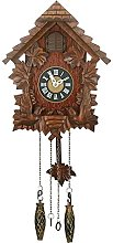 Traditional Cuckoo Wall Quartz Clock by Widdop &