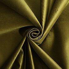 Traditional High Pile Designer Genova Velvet Green
