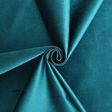 Traditional High Pile Designer Genova Velvet Teal