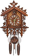 Traditional MDF Black Forest Style Cuckoo Clock