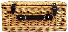 Traditional Medium Wicker Storage Basket - Why not