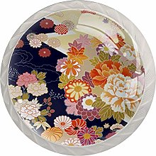 Traditional Pattern Japanese Drawer Pulls and
