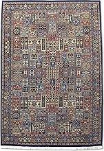 Traditional Persian Handmade Bakhtiar Rug, Wool,