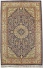 Traditional Persian Handmade Tree Of Life Rug,