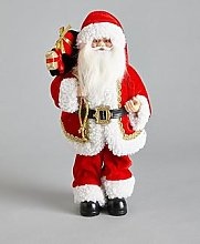 Traditional Standing Santa Christmas Decoration