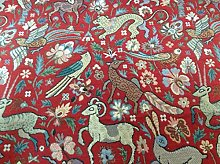 Traditional Vintage Woodland Tapestry Designer