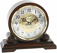 Traditional Walnut Chiming Westminster Mantel Clock
