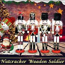 Traditional Wooden Handmade Nutcracker Soldier