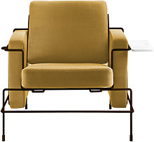 Traffic Padded armchair by Magis Yellow