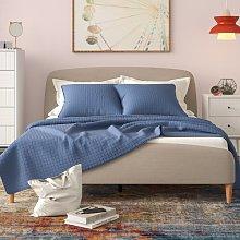 Trahan Upholstered Platform Bed Mikado Living