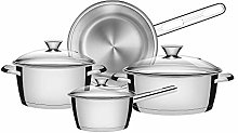 Tramontina 65650/324 Cookware Set, Stainless Steel