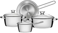 Tramontina 7 Pieces Stainless Steel Cookware Set