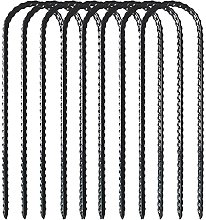 Trampoline Pegs, 9 Inch U Ground Anchors Stakes,