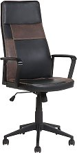 Transitional Office Desk Executive Chair Faux
