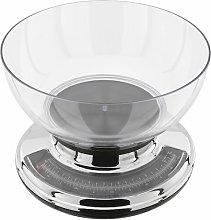 Transparent Bowl Mechanical Kitchen Scale Judge