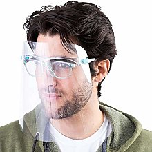 Transparent Face Protective Shield Visor with
