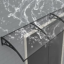 Transparent Front Door Canopy,PC Porch
