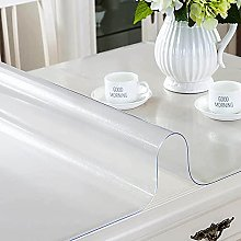 Transparent Matte Tablecloth, Waterproof
