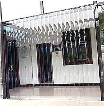 Transparent PVC Curtain/Door Strip Kit for Freezer