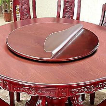 Transparent PVC Plastic Tablecloth with Waterproof