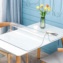 Transparent Tablecloth, Anti-Stain Protection mat